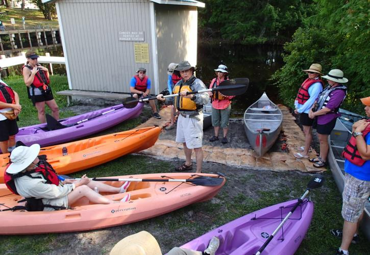 Canoe Tour at Lake Griffin