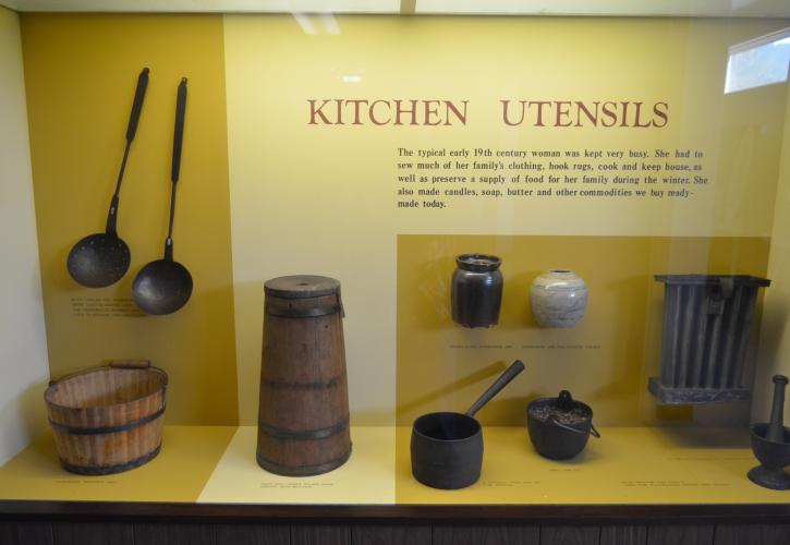 Kitchen Display at Constitution Convention Museum