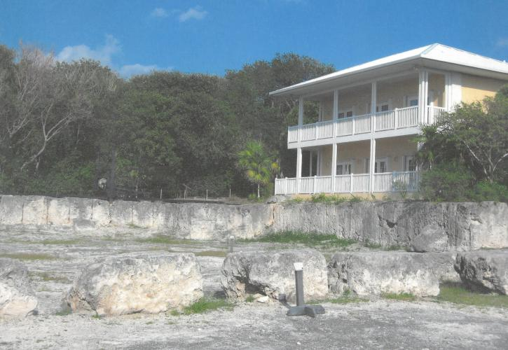 Education Center at Windley Key overlooks the Windley Rock Quarry