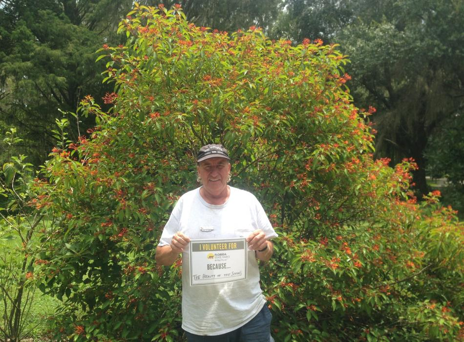 Silver Springs Volunteer Gary Morgan